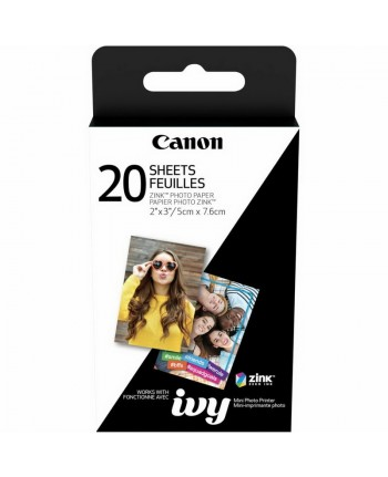 """Canon ZOEMINI 2 x 3"""" ZINK Photo Paper Pack (20 Sheets)"""