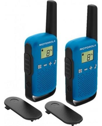 Motorola Talkabout T42 walkie-talkies blue