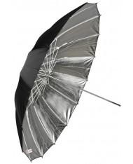 Silver reflective umbrella 150 cm Fibro