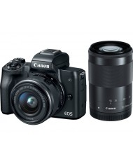 Canon EOS M50 kit 15-45 IS STM + 55-200mm IS STM