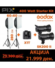 Godox 400W Starter Kit