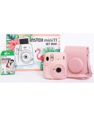 FujiFilm Instax mini 11 set box ( Blush Pink)