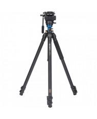 Benro A2573FS4 ( S4 Video Head and AL Flip Lock Legs Kit)