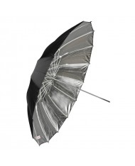 Silver reflective umbrella 105 cm Fibro