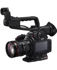 Canon EOS C100 Mark II Cinema EOS Camera with EF 24-105mm f/4L Lens