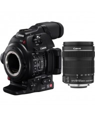 Canon EOS C100 Mark II Cinema EOS Camera with EF-S 18-135mm IS STM