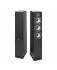 ELAC Debut 2.0 Floorstanding Speaker DF62 Black