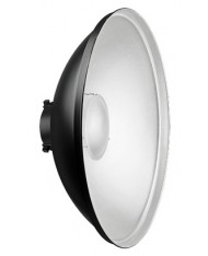 40 cm reflector - Beauty Dish with silver surface