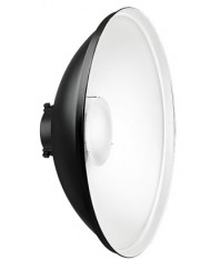 50 cm reflector - Beauty Dish with white surface