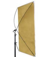 Studio reflector 90x180 cm, 2 surfaces