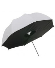 White translucent box umbrella 109 cm