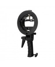 Speedlite S-Type Bracket with Handle for Speedlight Flash and Bowens Mount