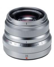 Fujifilm XF 35mm f/2 R WR Lens silver