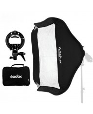 Godox 60x60cm Foldable Grid Softbox + S-Type Bracket Bowens Mount Holder