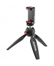 Manfrotto PIXI Smart Mini Tripod with Universal Smartphone Clamp