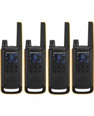 Motorola Talkabout T82 EXTREME Walkie-Talkies Quad Pack