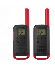 Motorola Talkabout T62 walkie-talkies red
