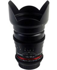 Samyang 35mm T1.5 AS UMC VDSLR For Canon