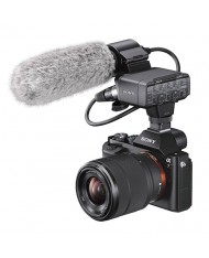 Sony Alpha a7S II with Sony XLR-K2M XLR Adapter Kit with Microphone