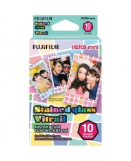 Fujifilm instax mini Stained Glass Instant Film (10 Exposures)