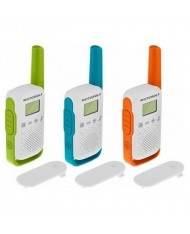 Motorola Talkabout T42 walkie-talkies triple pack