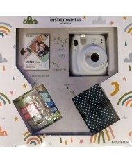 FujiFilm Instax mini 11 set box ( Ice White)