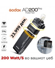 Godox AD200 PRO Pocket Flash