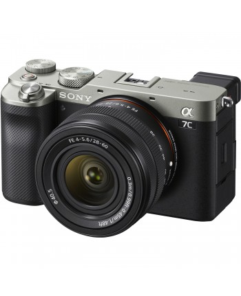 Sony Alpha a7C kit 28-60mm Lens (Silver)
