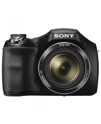Sony Cyber-shot DSC-H300 Digital Camera (Black)