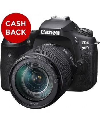 Canon EOS 90D kit 18-135mm Lens
