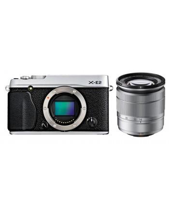 FujiFilm X-E2 silver kit with XC 16-50mm
