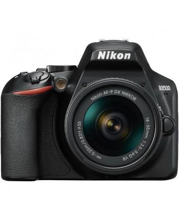 Nikon D3500 AF-P DX 18-55 VR kit + SD 64GB
