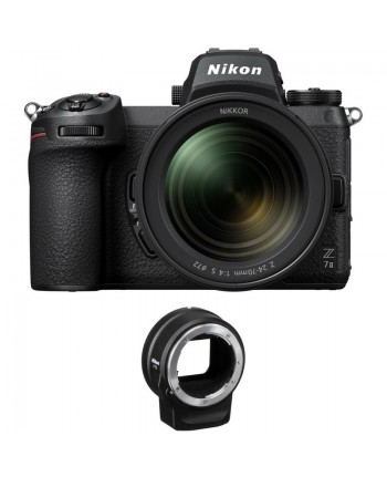 Nikon Z 7II 24-70mm f/4 Lens and FTZ Adapter Kit
