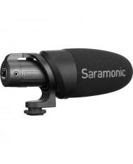 Saramonic CamMic+ Battery-Powered Camera-Mount Shotgun Microphone for DSLR and Smartphones