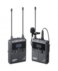 Godox WMicS1 Kit 1 Camera-Mount Wireless Omni Lavalier Microphone System for Mirrorless/DSLR Cameras (514 to 596 MHz)
