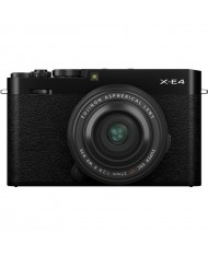 FUJIFILM X-E4 XF 27mm f/2.8 R WR Lens kit