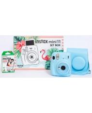FujiFilm Instax mini 11 set box ( Sky Blue)