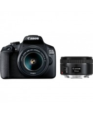 Canon EOS 2000D 18-55mm + 50mm double lens kit
