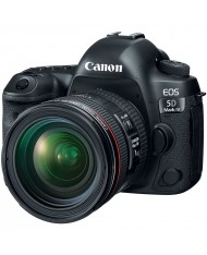 Canon EOS 5D Mark IV DSLR Camera with 24-70mm f/4L Lens