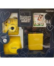 FujiFilm Instax Mini 9 set box (Clear Yellow)