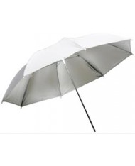 Silver reflective umbrella 85 cm