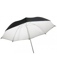 White reflective umbrella 105 cm