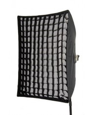 Deep softbox with grid 40x60 cm