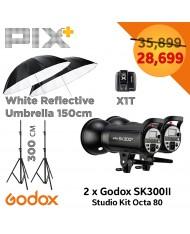 Godox SK300II Studio Strobe Umbrella