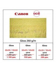 Canon Oce' Gloss Photo Paper 260 g/m