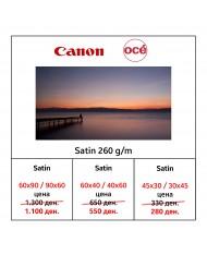 Canon Oce' Satin Photo Paper 260 g/m