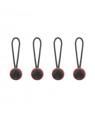 Peak Design Anchor Connector 4-Pack (Red/Black)