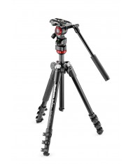 Manfrotto Befree Live Fluid Video Head w/ Befree Aluminum Tripod Kit