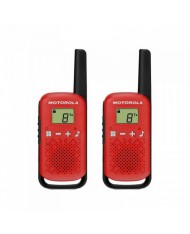 Motorola Talkabout T42 walkie-talkies red