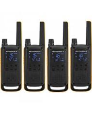 Motorola Talkabout T82 EXTREME Walkie-Talkies Quad Pack